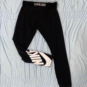 Black Nike leggings cotton
